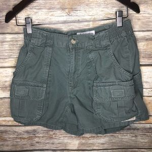 Vintage Columbia High rise mom hiking shorts cargo